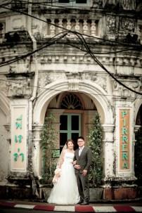 Derrick and Elaine's Phuket Old Town pre-wedding (prenuptial, engagement session) in Phuket, Thailand. Phuket Old Town_Phuket_wedding_photographer_Derrick and Elaine_06.JPG