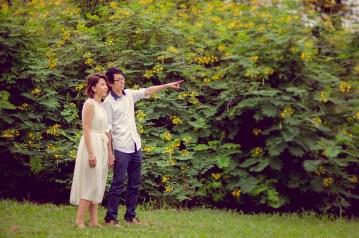 Amy and Kong's Rod Fai Park pre-wedding (prenuptial, engagement session) in Bangkok, Thailand. Rod Fai Park_Bangkok_wedding_photographer_Amy and Kong_152.TIF