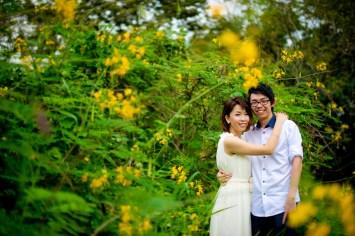 Amy and Kong's Rod Fai Park pre-wedding (prenuptial, engagement session) in Bangkok, Thailand. Rod Fai Park_Bangkok_wedding_photographer_Amy and Kong_156.TIF