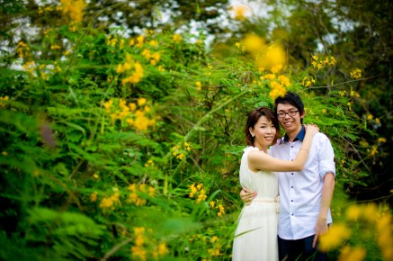 Amy and Kong's Rod Fai Park pre-wedding (prenuptial, engagement session) in Bangkok, Thailand. Rod Fai Park_Bangkok_wedding_photographer_Amy and Kong_156.TIF