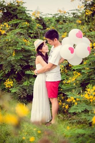 Stephanie and Kelvin's Rod Fai Park pre-wedding (prenuptial, engagement session) in Bangkok, Thailand. Rod Fai Park_Bangkok_wedding_photographer_Stephanie and Kelvin_12.JPG