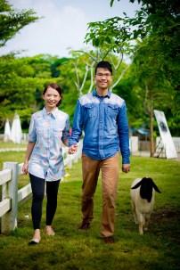 Jill and Daniel's Sheep Land Khao Yai pre-wedding (prenuptial, engagement session) in Nakhon Ratchasima, Thailand. Sheep Land Khao Yai_Nakhon Ratchasima_wedding_photographer_Jill and Daniel_32.TIF
