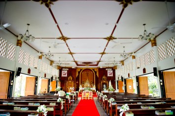 Gemma and Kevin's St. Nikolaus Church Pattaya wedding in Pattaya, Thailand. St. Nikolaus Church Pattaya_Pattaya_wedding_photographer_Gemma and Kevin_02.TIF