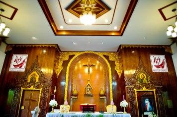 Gemma and Kevin's St. Nikolaus Church Pattaya wedding in Pattaya, Thailand. St. Nikolaus Church Pattaya_Pattaya_wedding_photographer_Gemma and Kevin_03.TIF