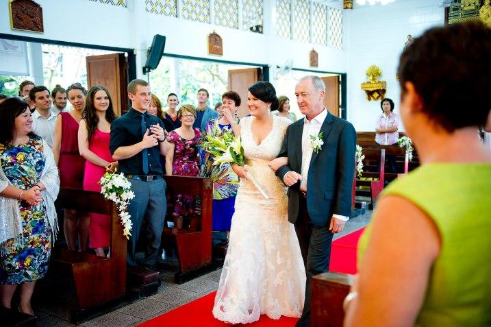 Gemma and Kevin's St. Nikolaus Church Pattaya wedding in Pattaya, Thailand. St. Nikolaus Church Pattaya_Pattaya_wedding_photographer_Gemma and Kevin_09.TIF