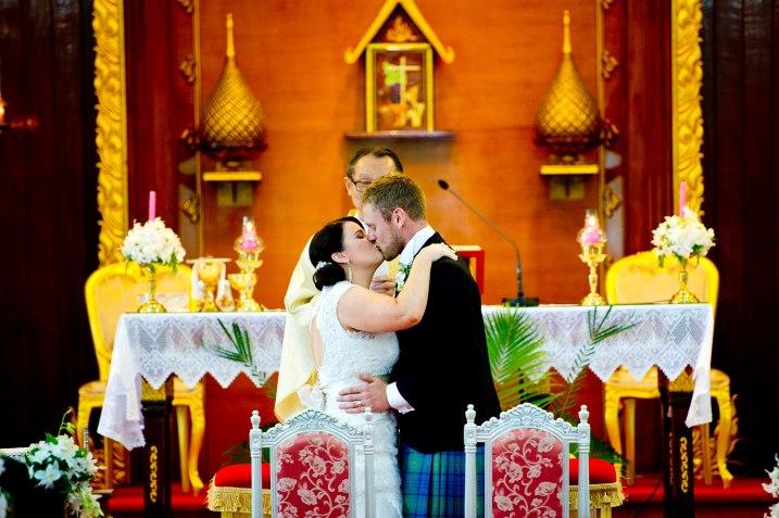 Gemma and Kevin's St. Nikolaus Church Pattaya wedding in Pattaya, Thailand. St. Nikolaus Church Pattaya_Pattaya_wedding_photographer_Gemma and Kevin_16.TIF