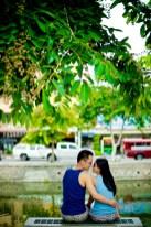 Kuma and Novia's Tha Phae Gate pre-wedding (prenuptial, engagement session) in Chiang Mai, Thailand. Tha Phae Gate_Chiang Mai_wedding_photographer_Kuma and Novia_22.JPG
