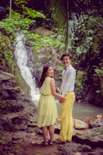 Rachel and Michael's Ton Sai Waterfall pre-wedding (prenuptial, engagement session) in Phuket, Thailand. Ton Sai Waterfall_Phuket_wedding_photographer_Rachel and Michael_45.TIF