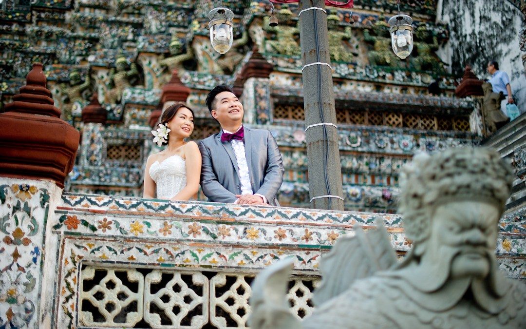 Bangkok Pre-Wedding: Wu and Lai from Hong Kong