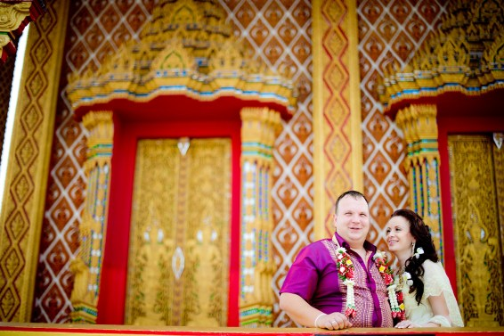 A and M's Wat Huay Yai wedding in Pattaya, Thailand. Wat Huay Yai_Pattaya_wedding_photographer_A and M_5.TIF