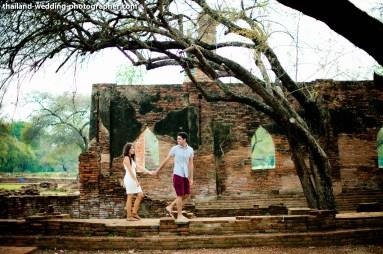 Wat Phra Si Sanphet & Ayutthaya Historical Park Pre-Wedding - 28