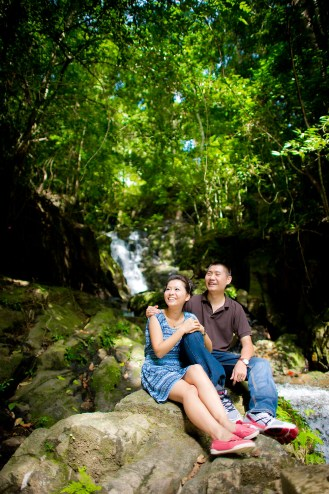 Xiaofen and Eric's Ton Sai Waterfall pre wedding (prenuptial, engagement session) in Phuket, Thailand. Ton Sai Waterfall_Phuket_wedding_photographer_Xiaofen and Eric_17.JPG