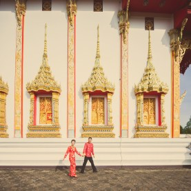 Xiaofen and Eric's Wat Choeng Thale pre wedding (prenuptial, engagement session) in Phuket, Thailand. Wat Choeng Thale_Phuket_wedding_photographer_Xiaofen and Eric_27.JPG