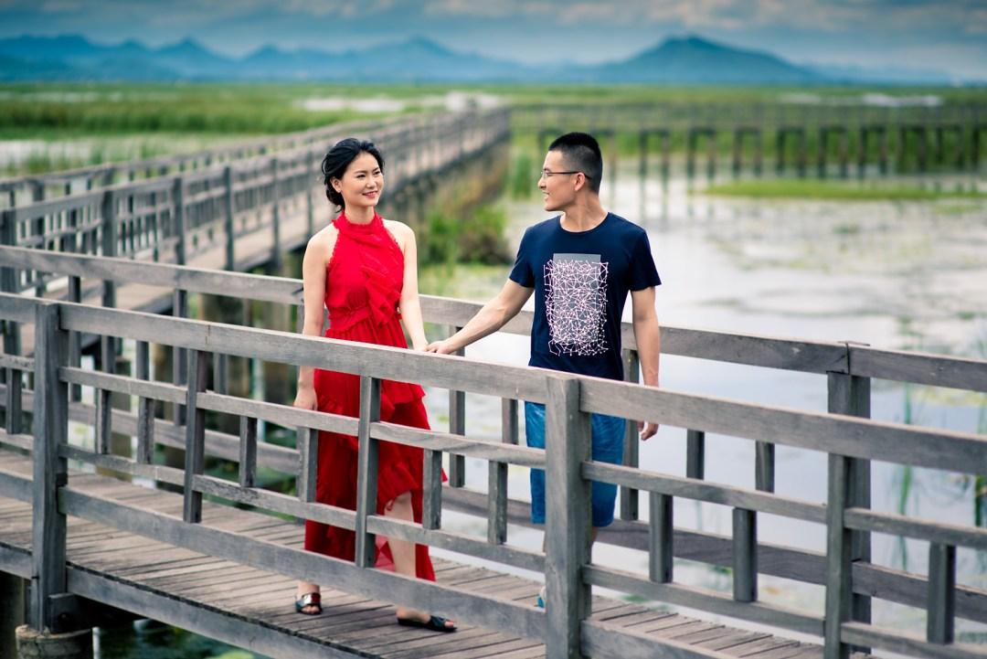 Khao Sam Roi Yod Hua Hin Pre-Wedding Photography | Jojo and Richard