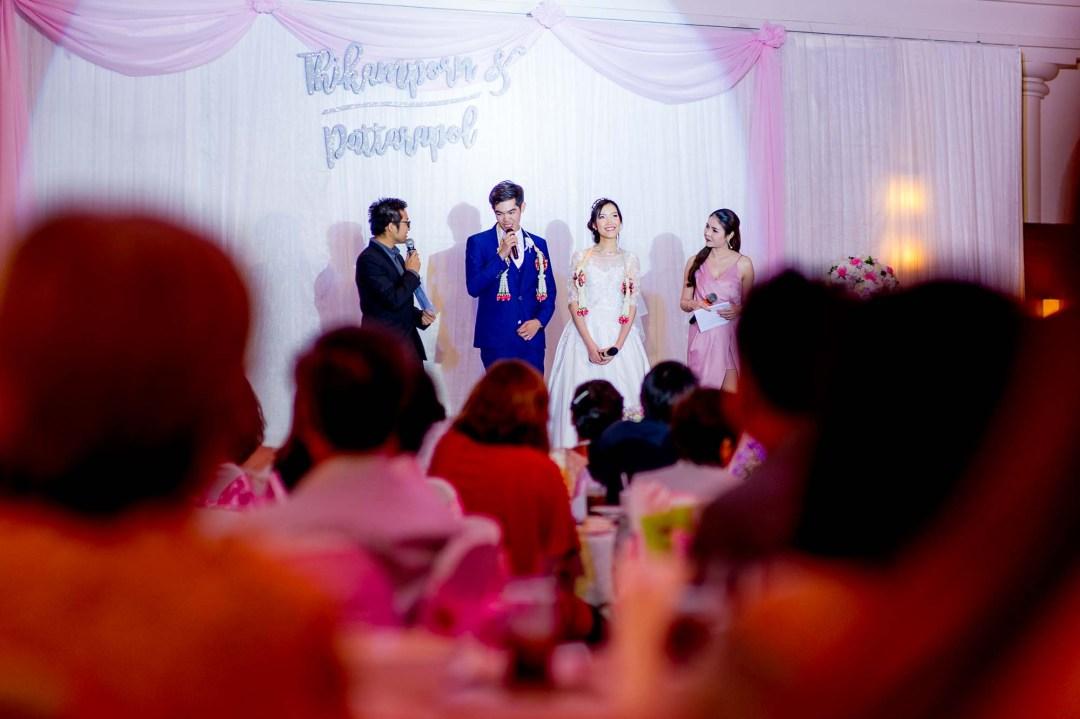 Wedding Reception at Thammasat Association Bangkok Thailand