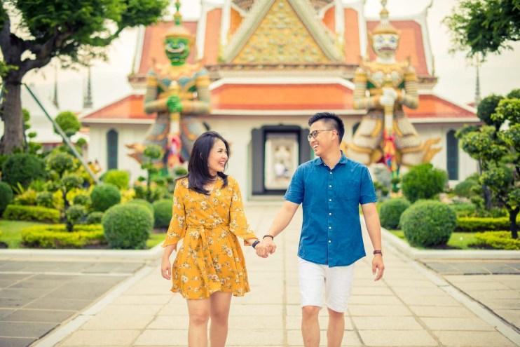 Bangkok Thailand Wedding Photography   Wat Arun Ratchawararam Ratchawaramahawihan