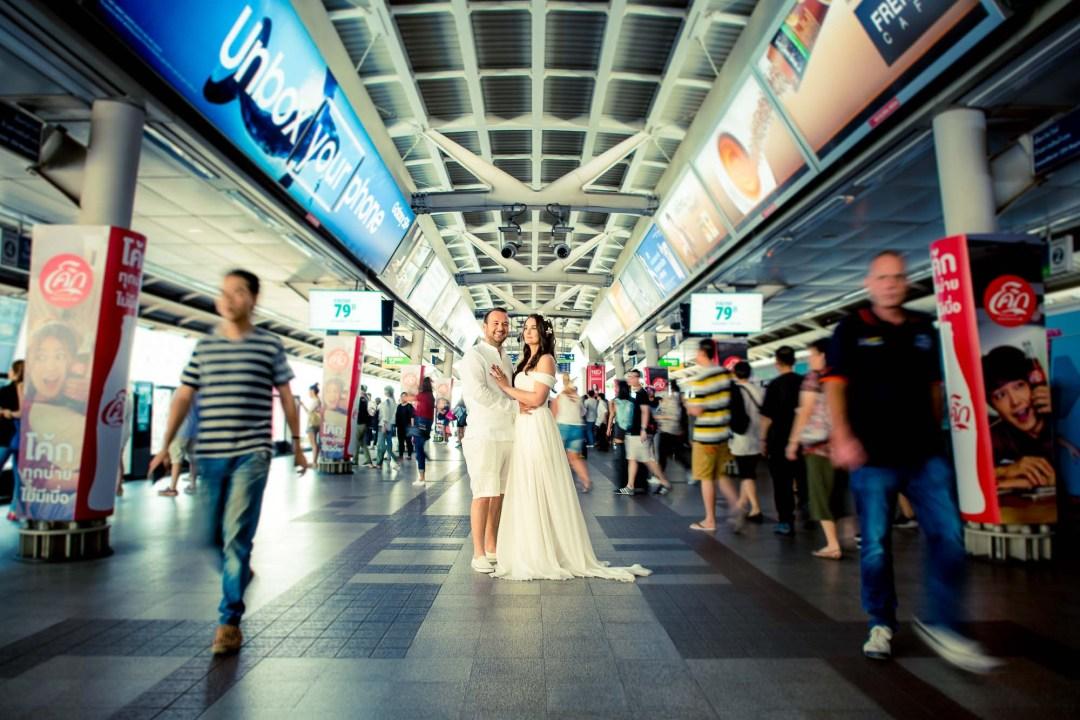 Pre-Wedding at Siam in Bangkok Thailand   Bangkok Wedding Photography