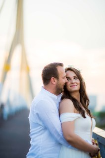 Rama VIII Bridge Bangkok Thailand Engagement Session