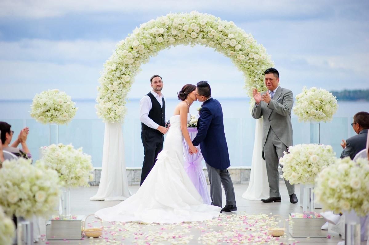 Cape Sienna Hotel & Villas Wedding | P&M
