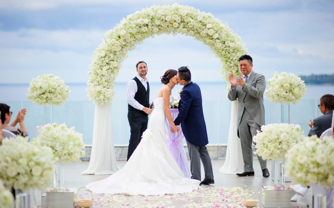 Cape Sienna Hotel & Villas Wedding | P&M