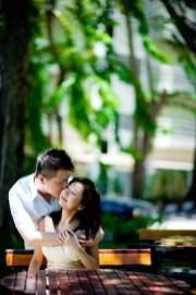 Kissing Photo | Pattaya Engagement Session - Pre-Wedding in Pattaya Thailand