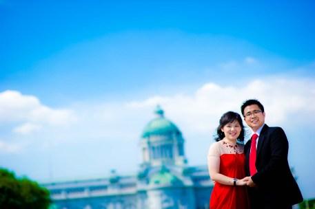 Thailand Bangkok Ananta Samakhom Throne Hall Wedding Photography   NET-Photography