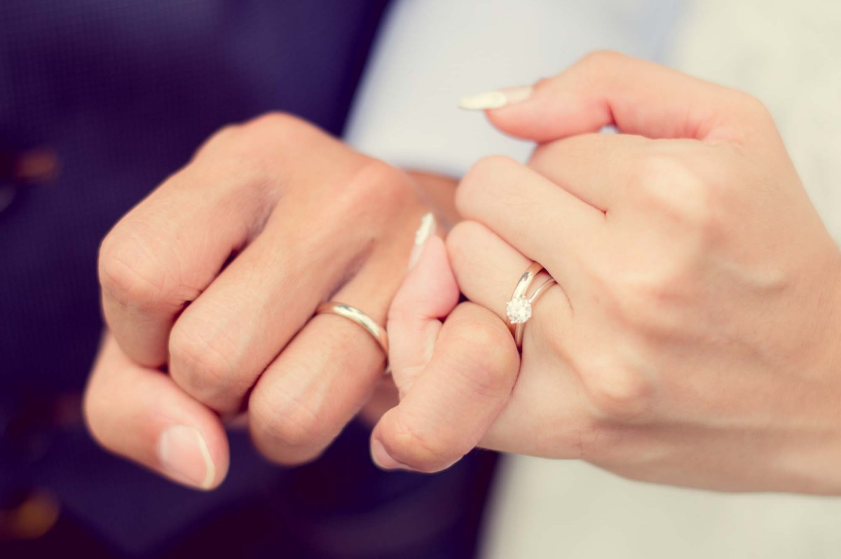 Photo of the Day: Wedding Rings