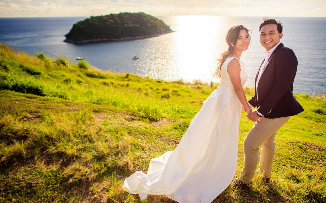 Before & After | Pre-Wedding at Windmill Viewpoint Phuket