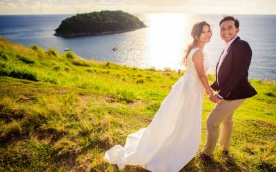 Before & After   Pre-Wedding at Windmill Viewpoint Phuket