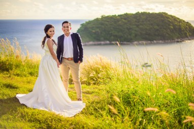 Thailand Phuket Windmill Viewpoint Pre-Wedding Photography