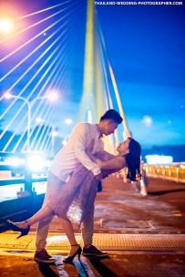 Rama VIII Bridge Bangkok Thailand Prenuptial Photography