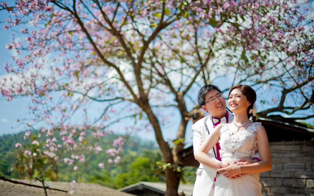 Preview: Doi Suthep Chiang Mai Thailand Prenuptial Photography