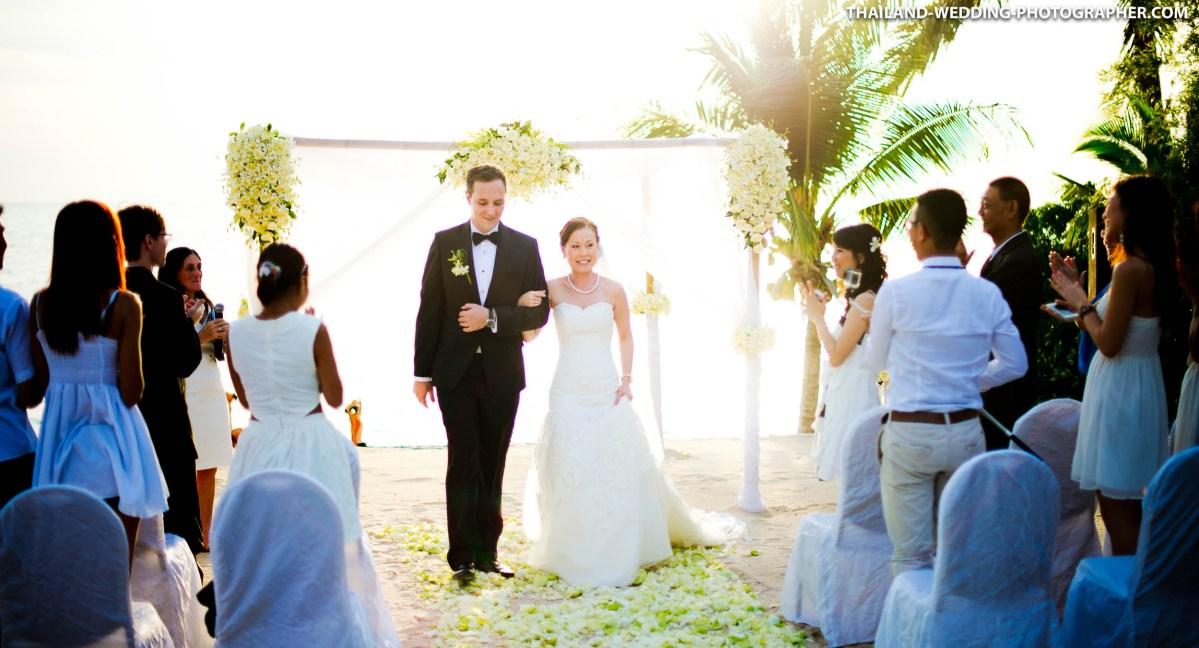 InterContinental Samui Baan Taling Ngam Resort Wedding