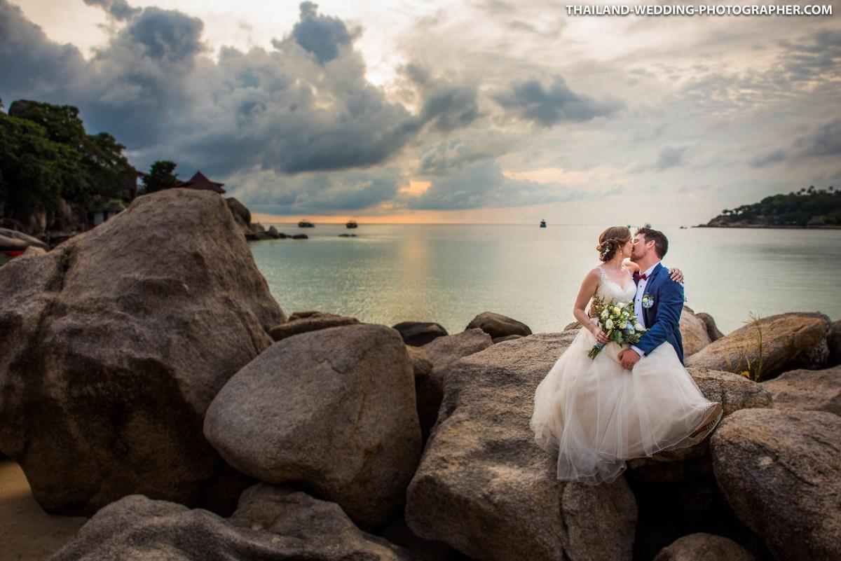 Koh Tao Island Thailand Wedding | Casas del Sol Luxury Boutique Villas - Freedom Beach