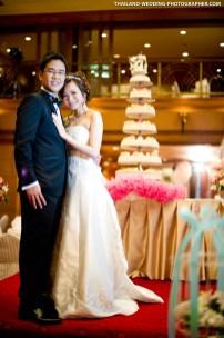 Thai wedding photo taken at Chaophya Park Hotel Ratchada in Bangkok, Thailand.