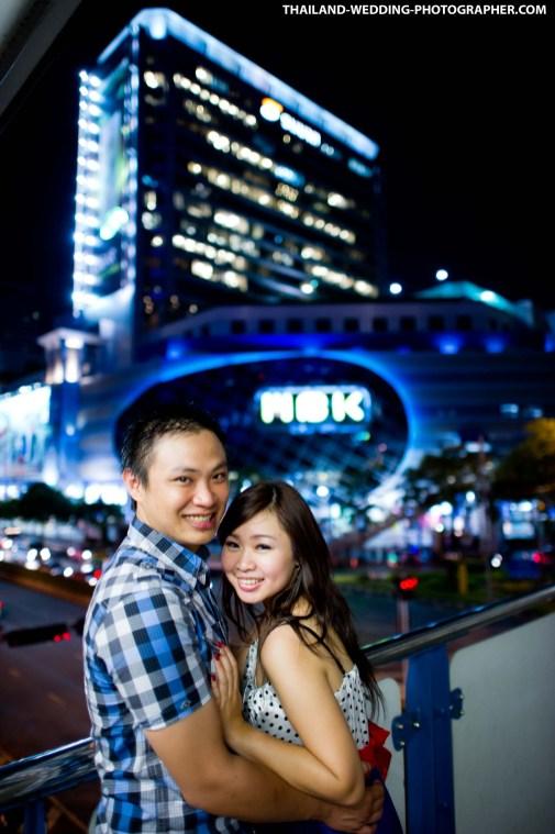 Thailand Bangkok MBK Engagement Session