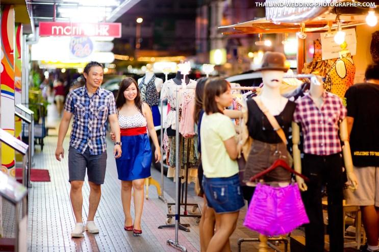 Thailand Bangkok Siam Square Engagement Session
