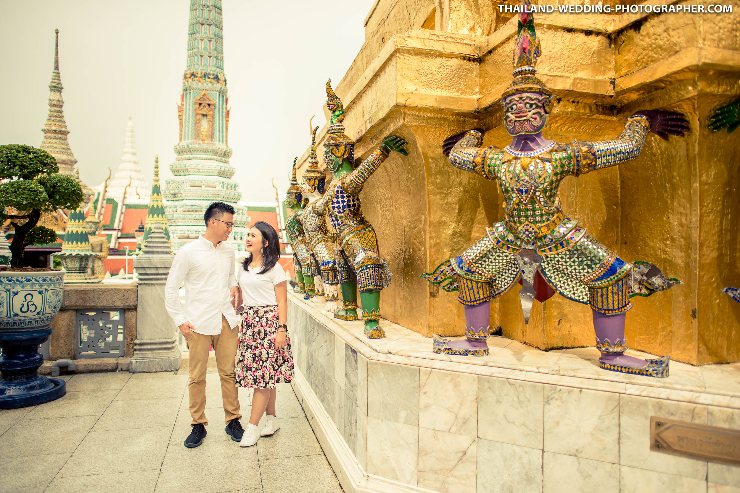 Grand Palace Bangkok Pre Wedding Photography | Preview