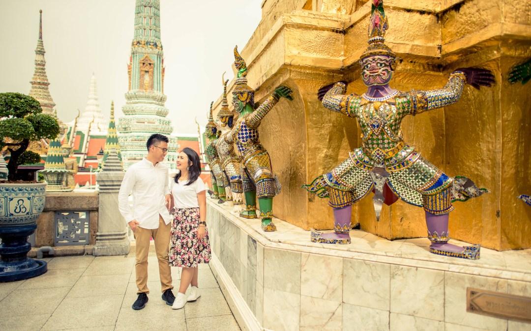 Grand Palace Bangkok Pre Wedding Photography | Preview