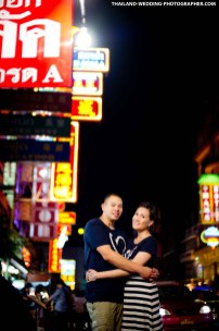 Bangkok China Town Pre-Wedding Photography