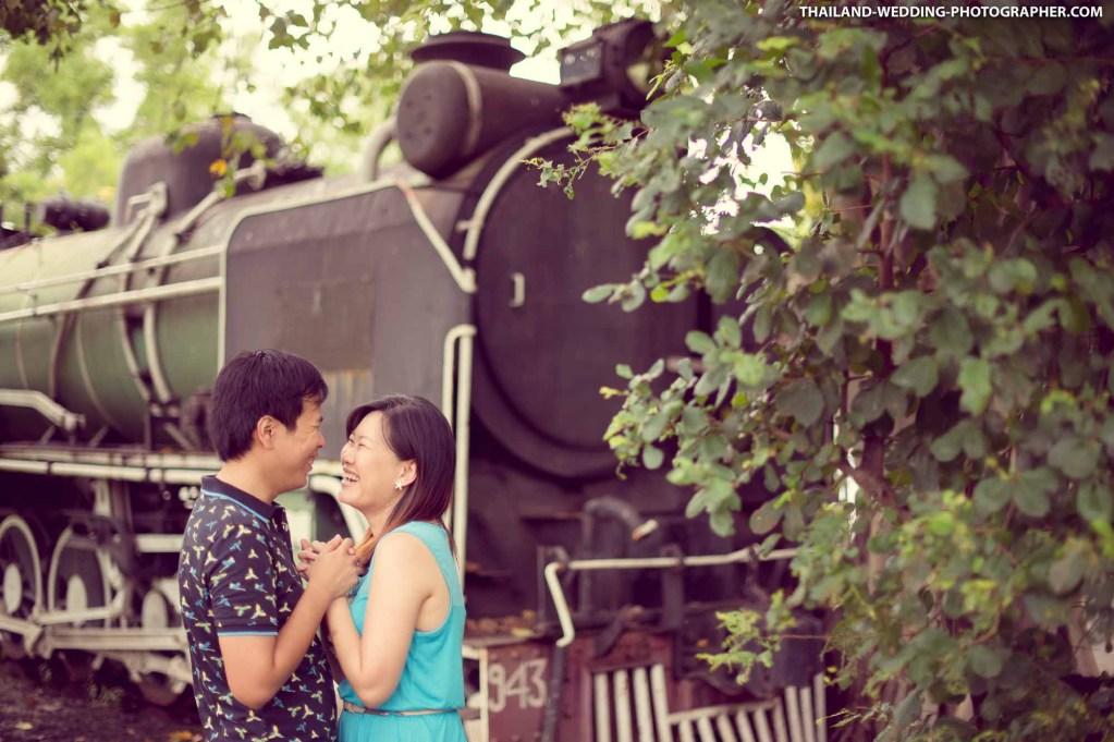 Thailand Bangkok Rod Fai Park Wedding Photography | NET-Photography Thailand Wedding Photographer