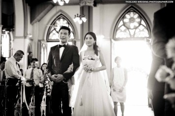 Holy Rosary Church Bangkok Thailand Wedding Photography