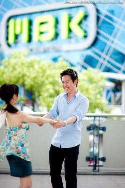 Pre-Wedding at Siam in Bangkok, Thailand.