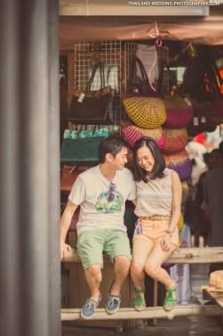 Thailand Pattaya Floating Market Wedding Photography | NET-Photography Thailand Wedding Photographer