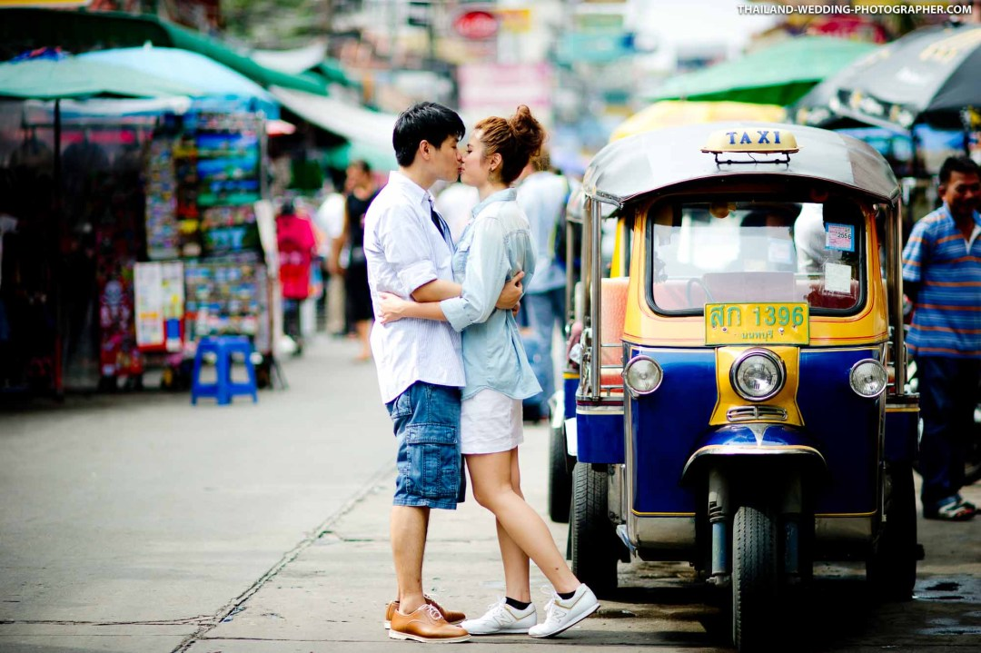 Khao San Street Bangkok Thailand Prenuptial (Pre-Wedding, Engagement Session)