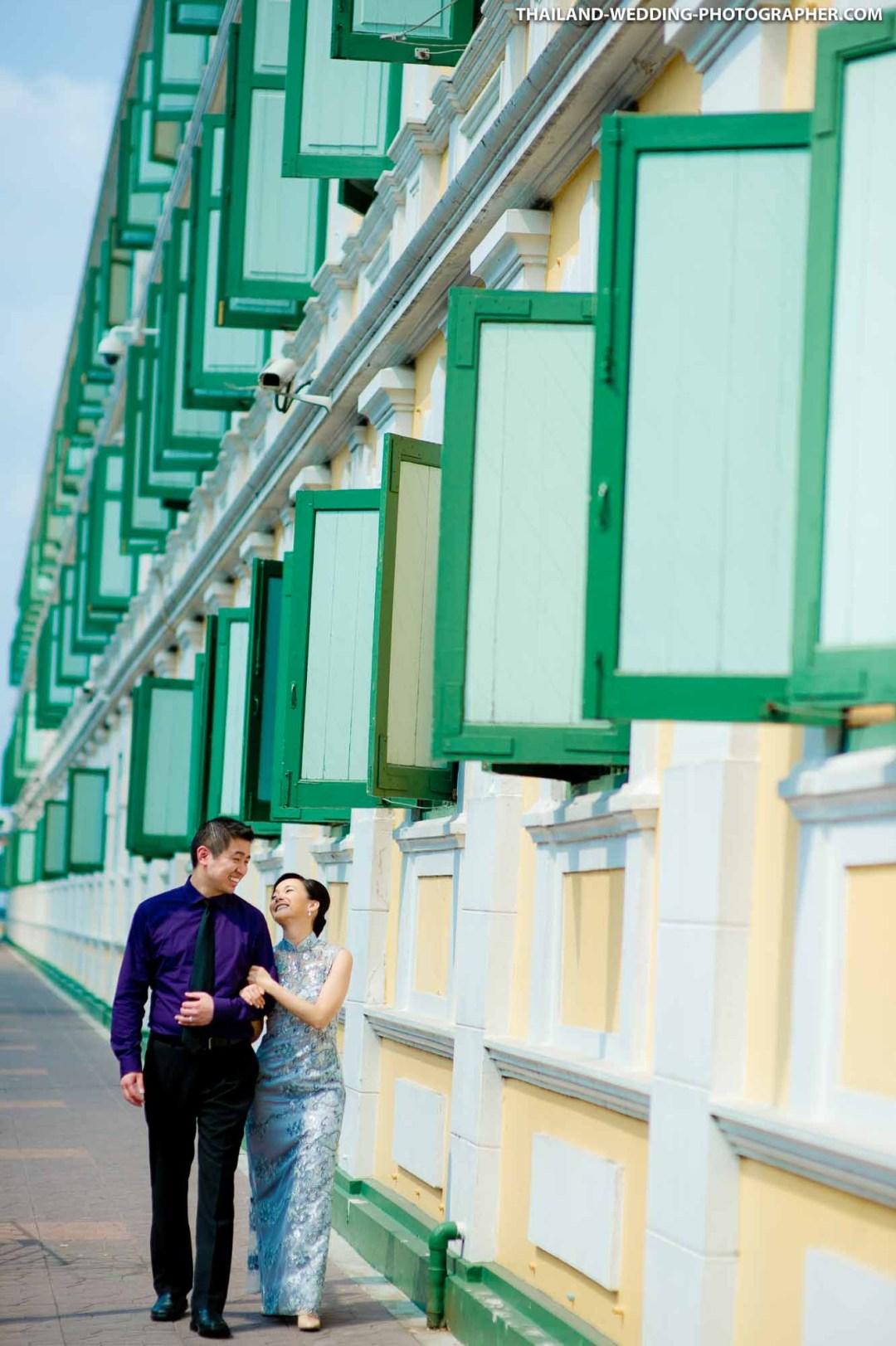 Ministry Of Defense Bangkok Thailand Wedding Photography