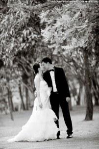 Esther & Sivin's Pre-Wedding shoot at King Rama IX Park in Bangkok, Thailand.