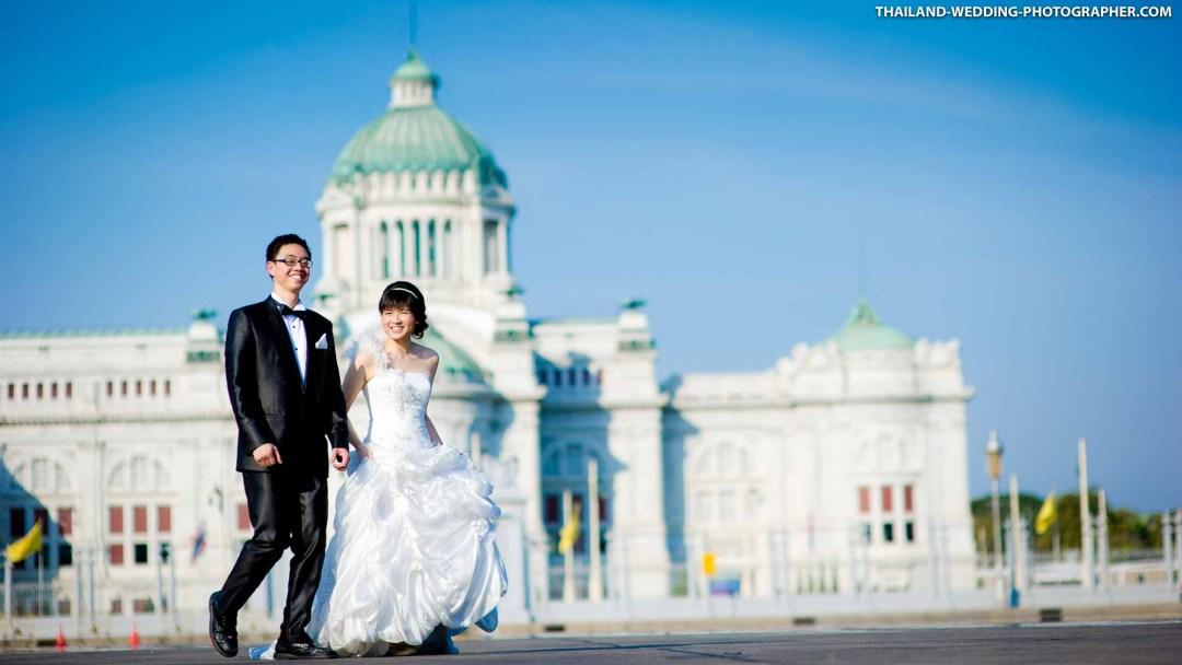 Ananta Samakhom Throne Hall Bangkok Thailand Wedding Photography