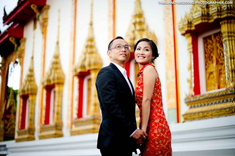 Chalong Temple Phuket Pre-Wedding Photography