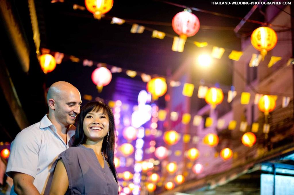 China Town Bangkok Thailand Wedding Photography